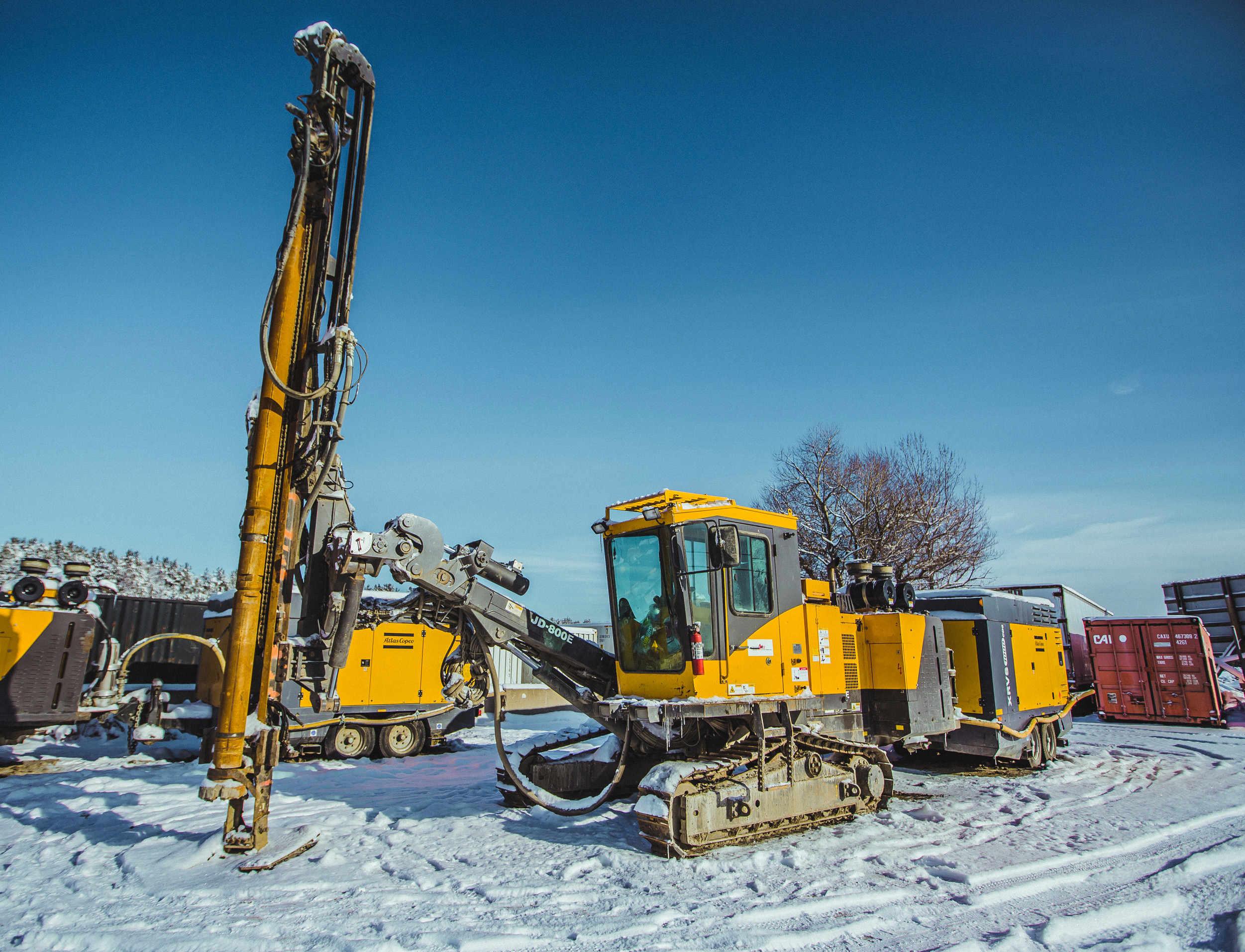 Excavator Drill Attachments - BreakersDrills North America